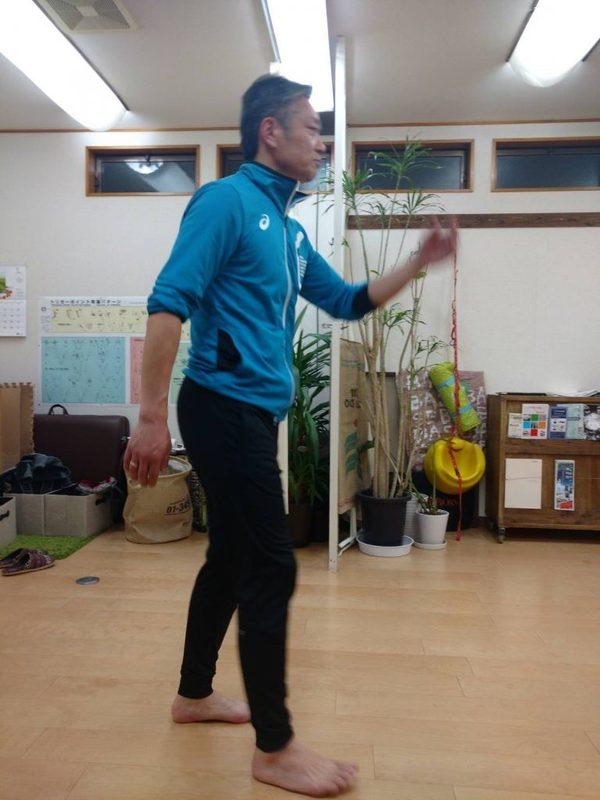 85歳男性:歩行指導(股関節骨折からのリハビリ)