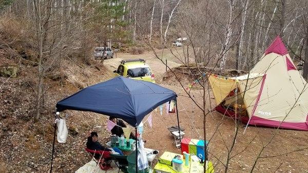 長野県南相木村オートキャンプ!